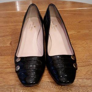 Kate Spade Patent Leather Block Heel Pump